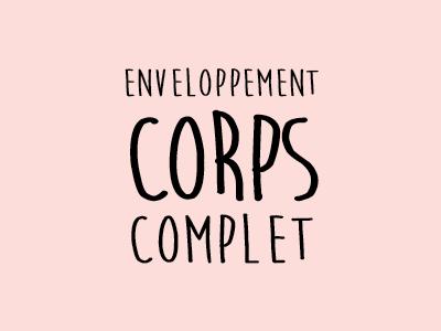 Enveloppement Corps Complet Espace Nomad
