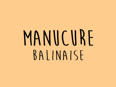 Manucure Balinaise Espace Nomad